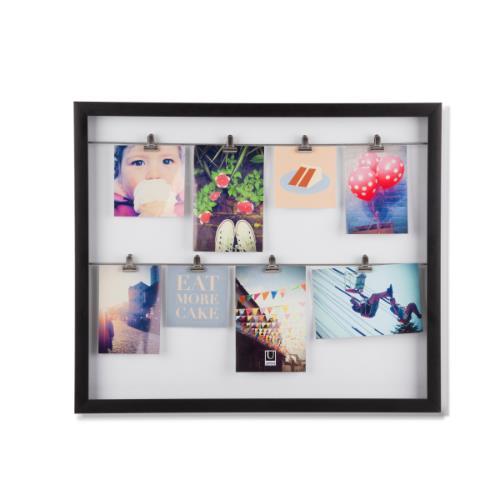 Umbra Clipline Photo Display Black Frame - Jessops - Frames