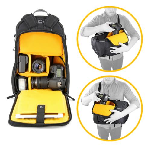 Veo Discover 42 Backpack/Sling Product Image (Secondary Image 4)