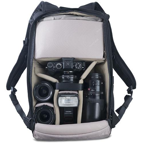 Veo Go 46M Backpack in Black Product Image (Secondary Image 4)