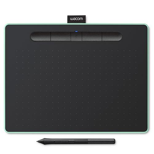 Intuos M Bluetooth Graphics Tablet in Pistachio Product Image (Primary)