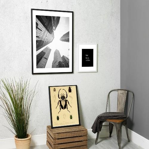 WIDD A1 Poster Frame Black Product Image (Secondary Image 3)