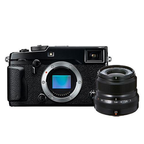 X-Pro2 Mirrorless Camera Body + XF23mm f/2.0 Lens  Product Image (Primary)