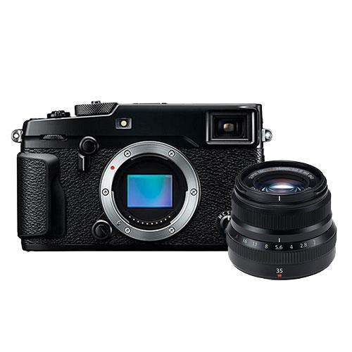 X-Pro2 Mirrorless Camera Body + XF35mm f/2.0 Lens Product Image (Primary)
