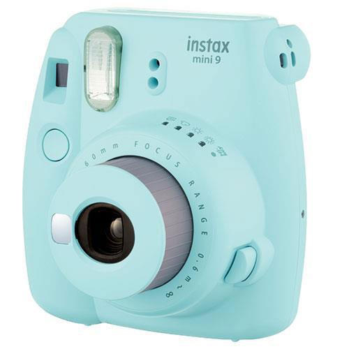 mini 9 Instant Camera in Ice Blue with Instax Accessory Kit and Film Pack Product Image (Secondary Image 1)
