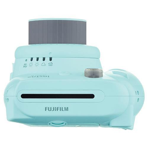 mini 9 Instant Camera in Ice Blue with 10 Shots and 50 Shot Pack Product Image (Secondary Image 2)