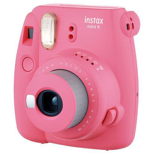 mini 9 Instant Camera in Pink with 10 Shots and 50 Shot Pack Product Image (Secondary Image 1)