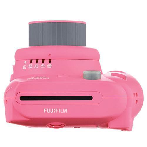 mini 9 Instant Camera in Pink with 10 Shots and 50 Shot Pack Product Image (Secondary Image 2)