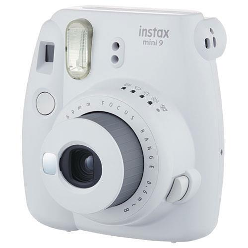 mini 9 Instant Camera in White with 10 Shots and 50 Shot Pack Product Image (Secondary Image 1)