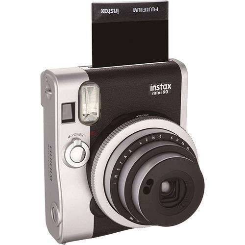 Mini 90 Instant Camera in Black with 10 Shots plus Mini Colour Film 20 Shots Product Image (Secondary Image 1)