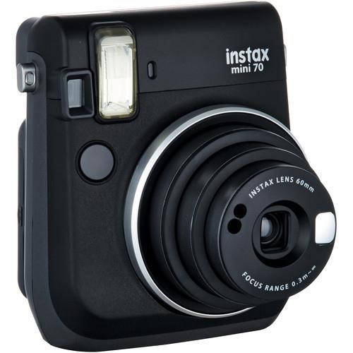 Mini 70 Instant Camera in Black with 10 Shots Plus Instax Mini Colour Film 20 Shots Product Image (Secondary Image 2)