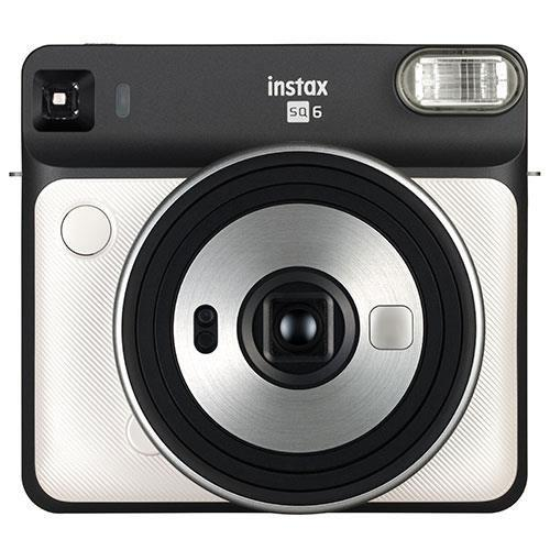 Square SQ6 Instant Camera in Pearl White with Square Film Twin Pack Product Image (Secondary Image 1)