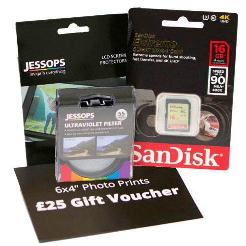 Mirrorless 16gb Bundle - 40.5mm Filter Product Image (Primary)