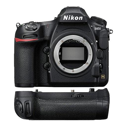 Nikon D850 Digital Slr Body With Mb D18 Multi Battery Grip