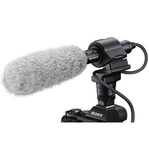 ECM-CG60 Shotgun Microphone & Sony GP-VPT2BT Grip Product Image (Secondary Image 1)