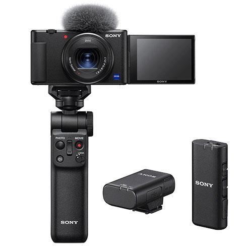 ZV-1 Compact Vlogger Camera Creator Kit Product Image (Primary)