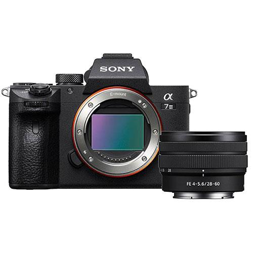 a7 III Mirrorless Camera Body with FE 28-60mm F4-5.6 Lens Product Image (Primary)
