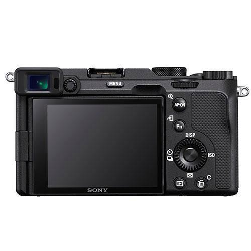 a7C Mirrorless Camera in Black with FE 28-60mm Lens Creator Kit Product Image (Secondary Image 2)