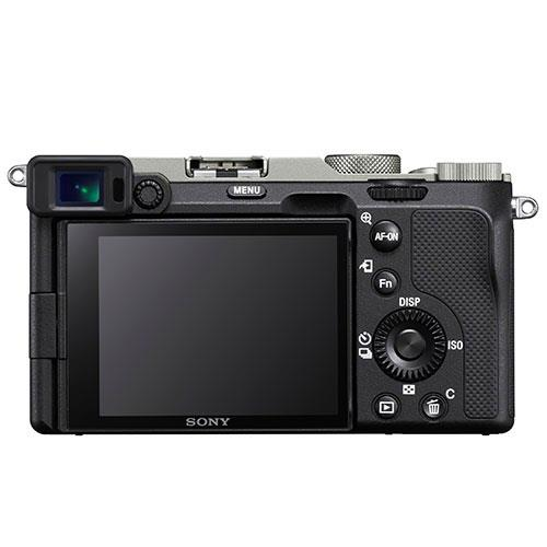 a7C Mirrorless Camera Body in Silver Creator Kit Product Image (Secondary Image 1)