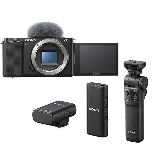 ZV-E10 Mirrorless Vlogger Camera Body Creator Kit Product Image (Primary)