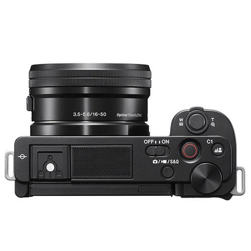 ZV-E10 Mirrorless Vlogger Camera with 16-50mm Lens Creator Kit Product Image (Secondary Image 3)