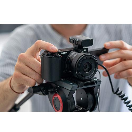 ZV-E10 Mirrorless Vlogger Camera with 16-50mm Lens Creator Kit and Sony 10-18mm Lens Product Image (Secondary Image 5)