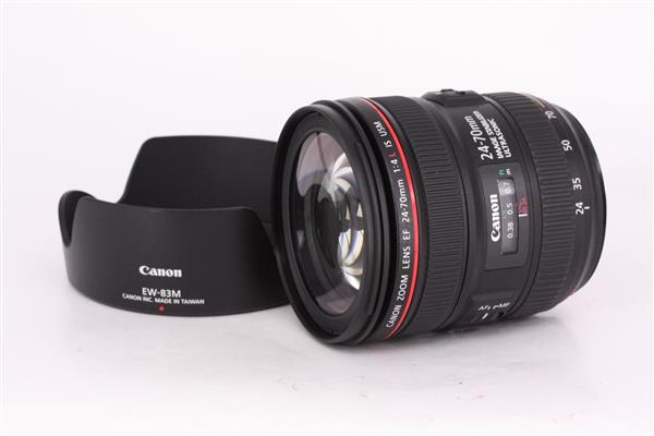 EF 24-70mm f/4L IS USM Lens - Primary Sku Image