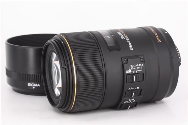 105mm f/2.8 EX DG OS HSM Macro (Nikon AF) - Primary Sku Image