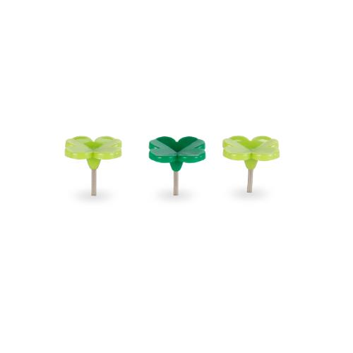 KIKK Lucky Clover Push Pins 20 Product Image (Secondary Image 1)