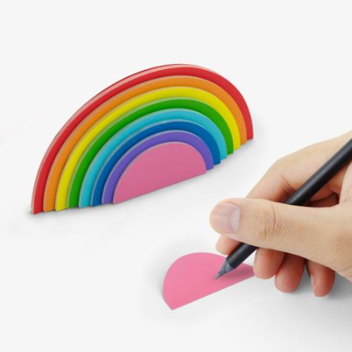 MUSTARD Rainbow Sticky Notes Product Image (Secondary Image 2)