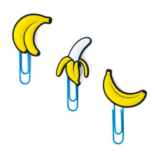 MUSTARD Banana Picture Hangers Product Image (Primary)