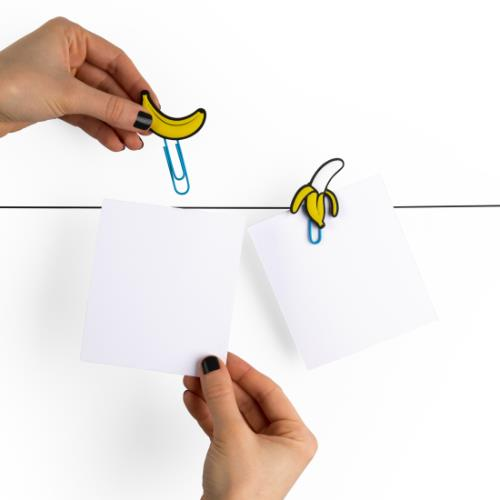 MUSTARD Banana Picture Hangers Product Image (Secondary Image 2)