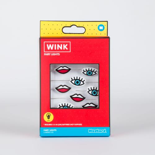 MUSTARD Wink Fairy Lights Product Image (Primary)