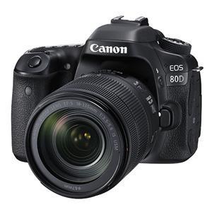 Buy Canon EOS 80D Digital SLR + EF-S 18-135mm f/3.5-5.6 IS USM Lens from Jessops