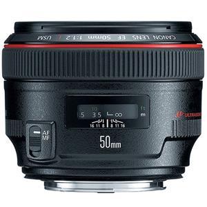 Buy Canon EF 50mm f/1.2 L USM Lens from Jessops