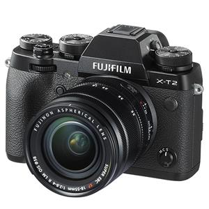 Buy Fujifilm X-T2 Mirrorless Camera in Black with XF18-55mm Lens from Jessops