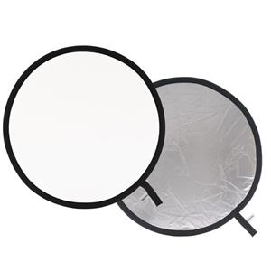 Buy Lastolite Collapsible Reflector 50cm in Silver/White  from Jessops