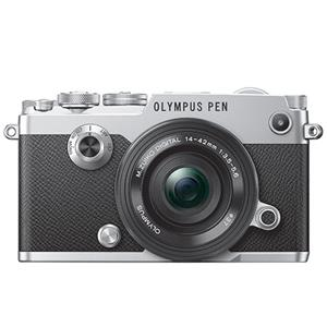 Buy Olympus PEN-F Mirrorless Camera in Silver with 14-42mm f/3.5-5.6 Lens   from Jessops