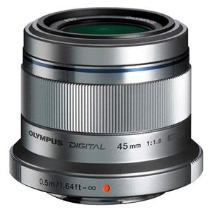 Buy Olympus 45mm f/1.8 Micro Four Thirds Lens in Silver from Jessops