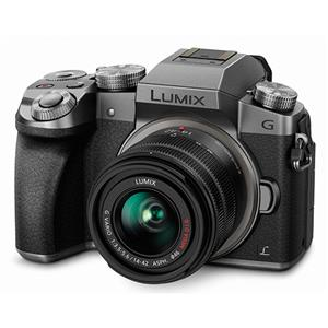 Buy Panasonic Lumix DMC-G7 Compact System Camera in Silver + 14-42mm Lens from Jessops