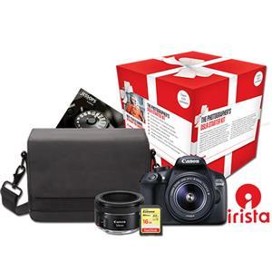 Buy Canon EOS 1300D Digital SLR Twin Lens Starter Kit from Jessops