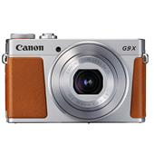 A picture of Canon PowerShot G9 X Mark II Compact Camera in Silver