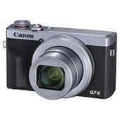 A picture of Canon PowerShot G7 X Mark III Digital Camera in Silver with Extra Battery