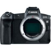 A picture of Canon EOS R Mirrorless Camera with Mount Adapter