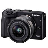 A picture of Canon EOS M3 Compact System Camera with 15-45mm IS STM Lens