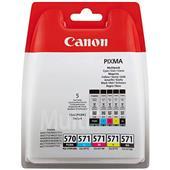 A picture of Canon PGI-570/CLI-571 Ink Cartridge Multipack