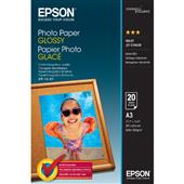 A picture of Epson Photo Paper Glossy A3 20 Sheet