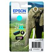 A picture of Epson Cyan 24XL Claria Photo HD Ink