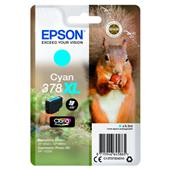 A picture of Epson Cyan 378XL Claria Photo HD Ink