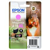 A picture of Epson Light Magenta 378XL Claria Photo HD Ink