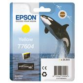A picture of Epson T7604 Yellow Ink